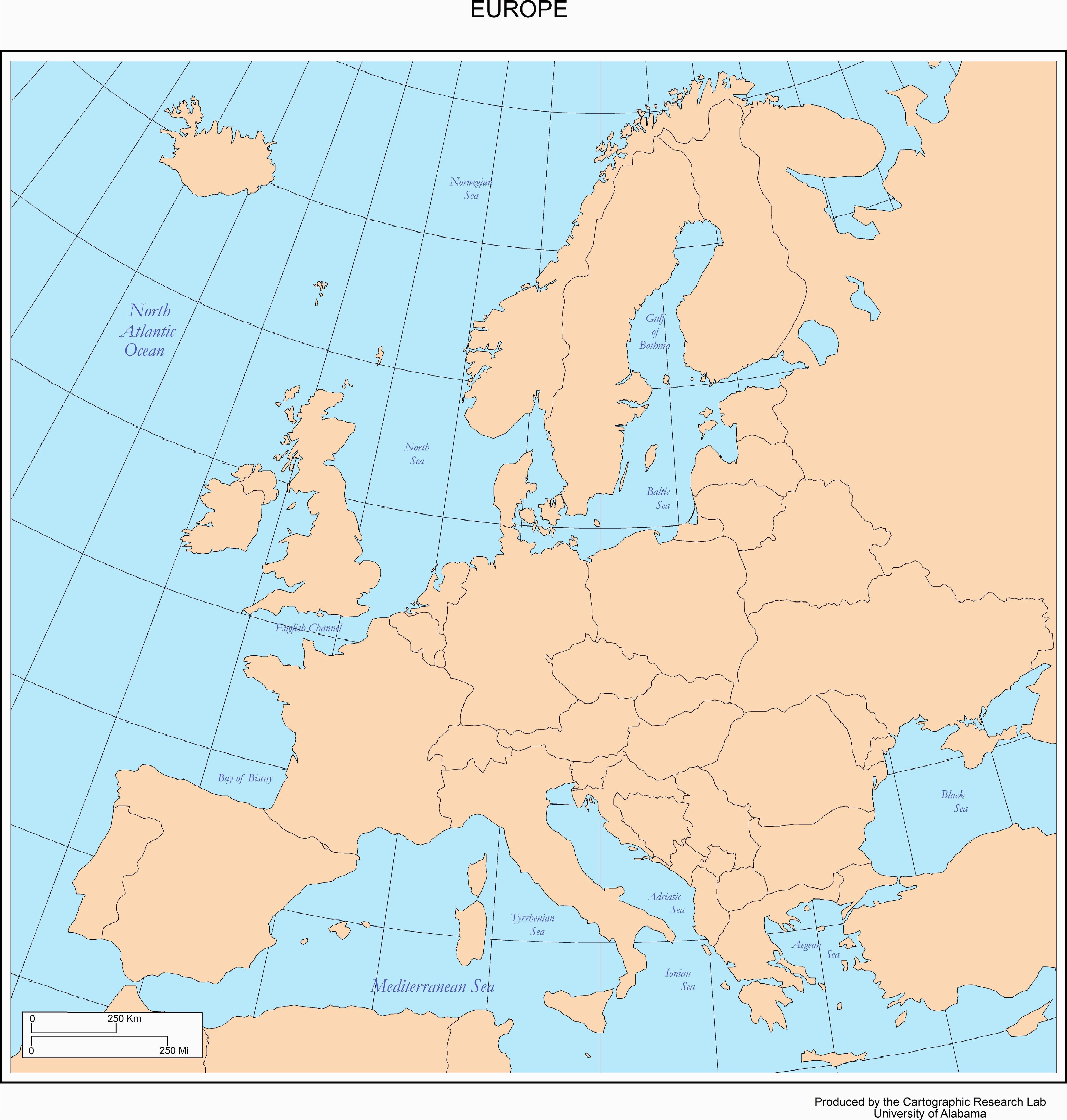28 thorough europe map w countries