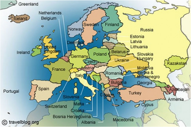 europe physical features map climatejourney org