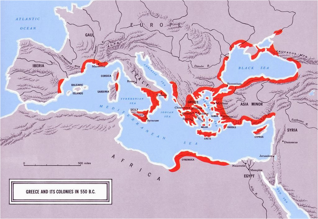 another map of greek colonization maps map historical