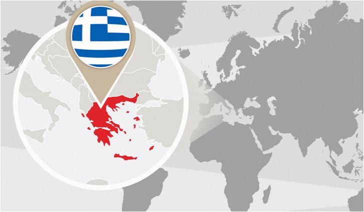 what continent is greece in worldatlas com