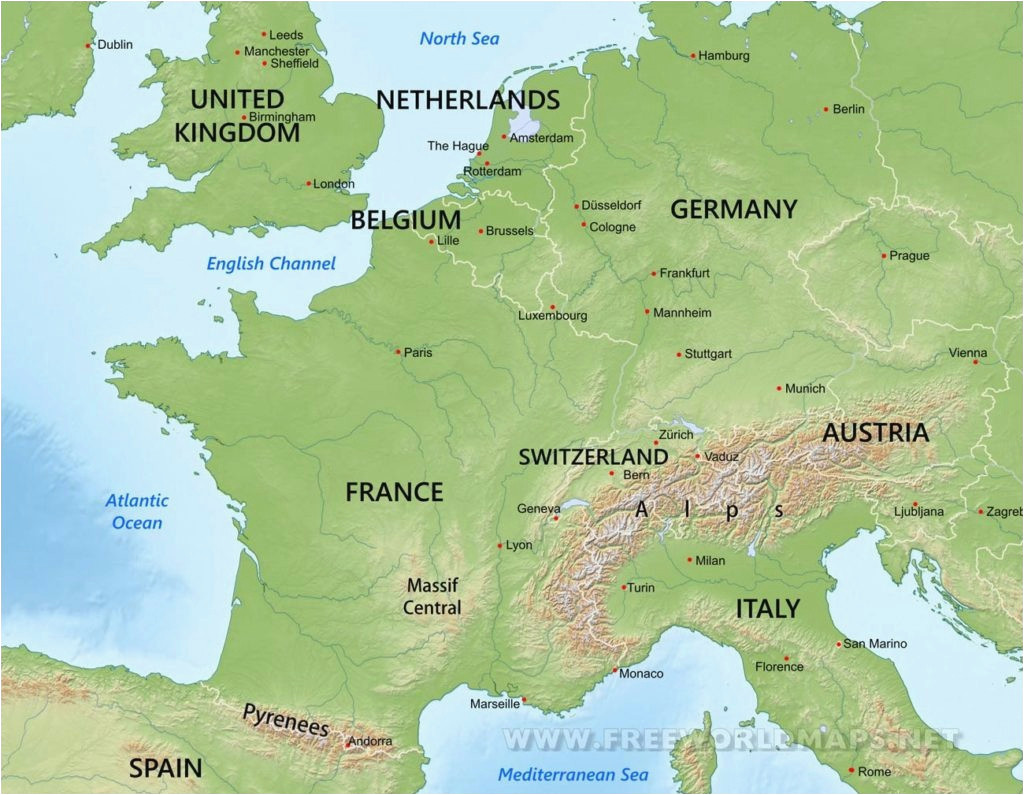 awesome europe mountains map earnon me