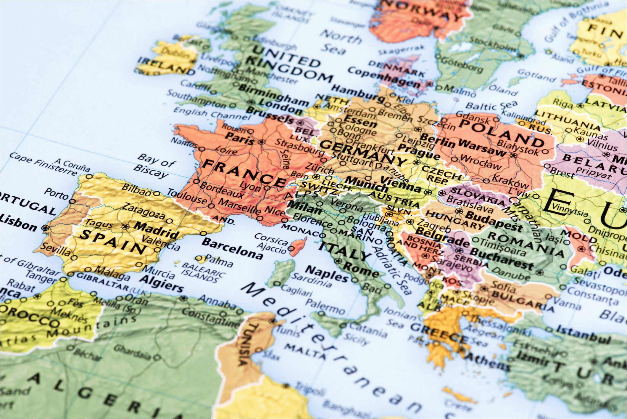 Map Of northern Europe Countries northern Europe Cruise Maps
