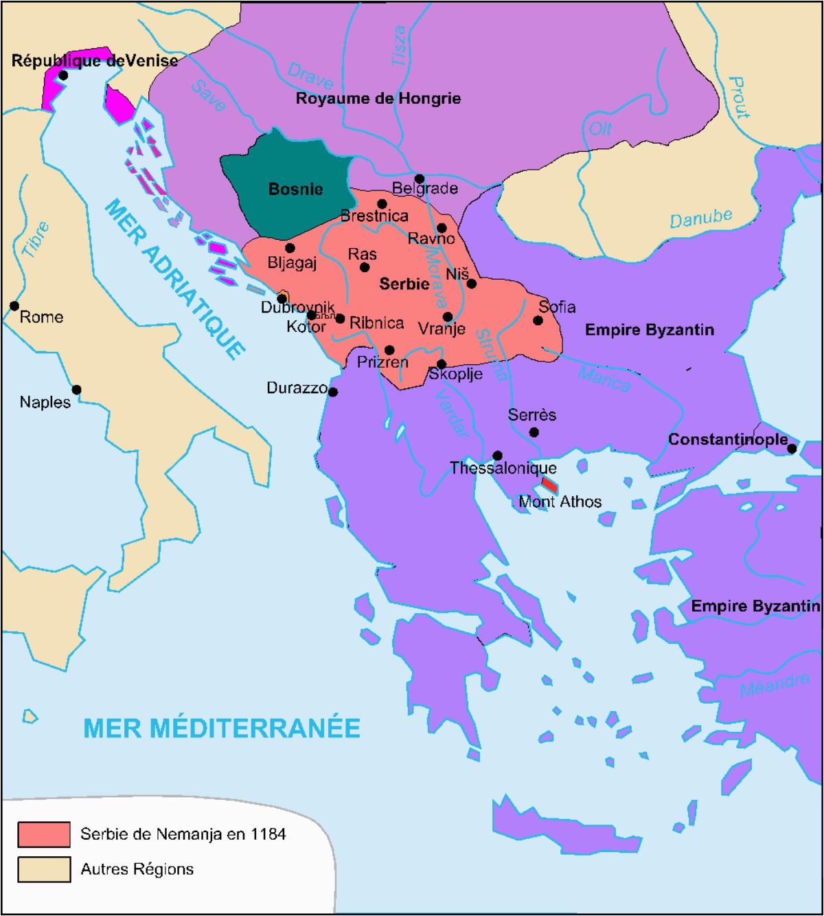 grand principality of serbia wikipedia