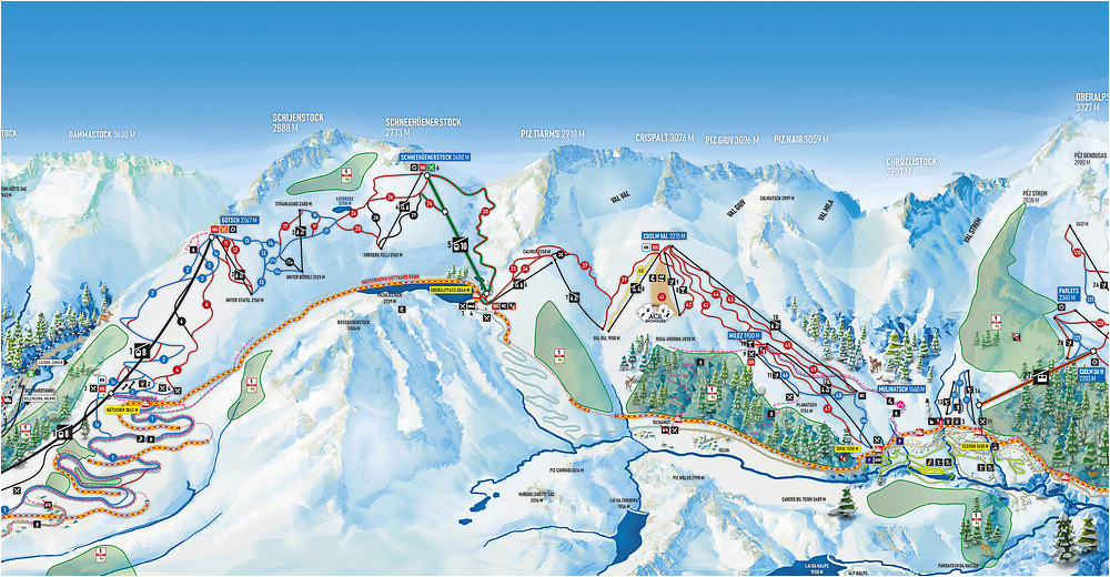 bergfex ski resort andermatt gemsstock skiing holiday