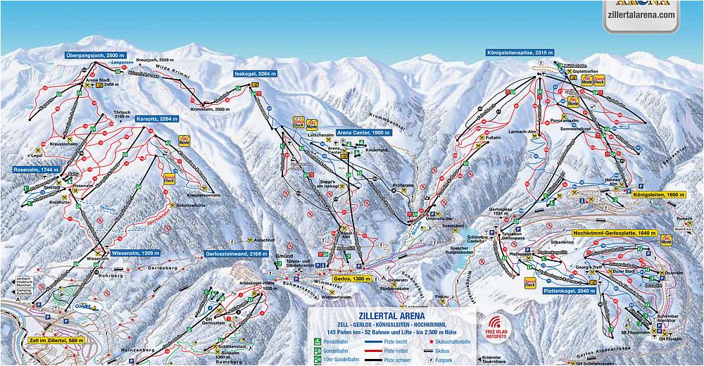 bergfex ski resort zell am ziller zillertal arena