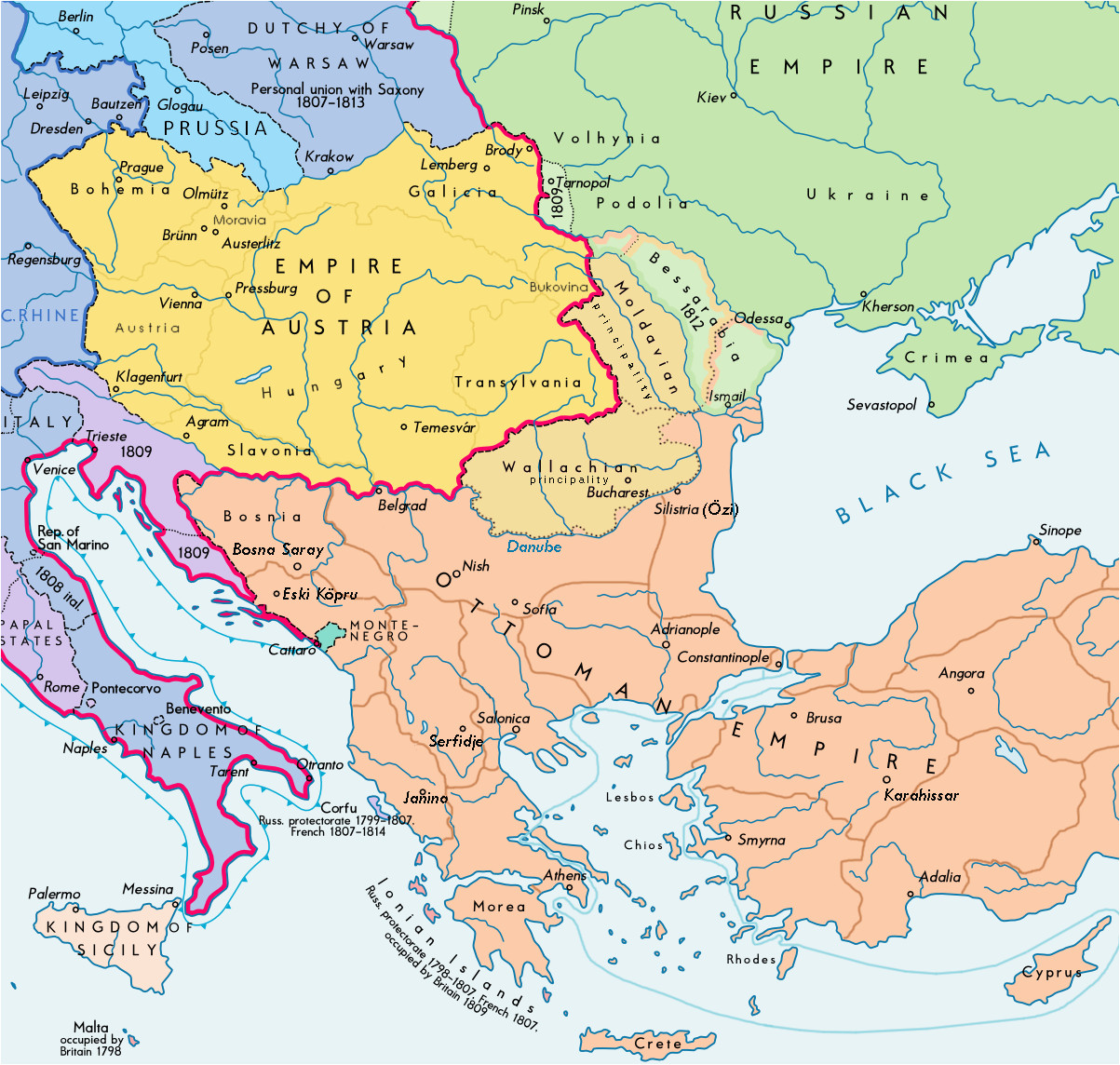datoteka southeast europe 1812 map en png wikipedija