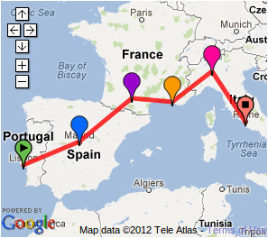 possible southern europe trip 2 weeks lisbon madrid