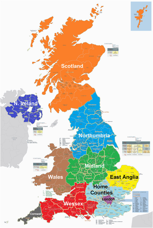 Map Of Uk and Europe Map Uk Divided Into 10 States Random Fascination Map
