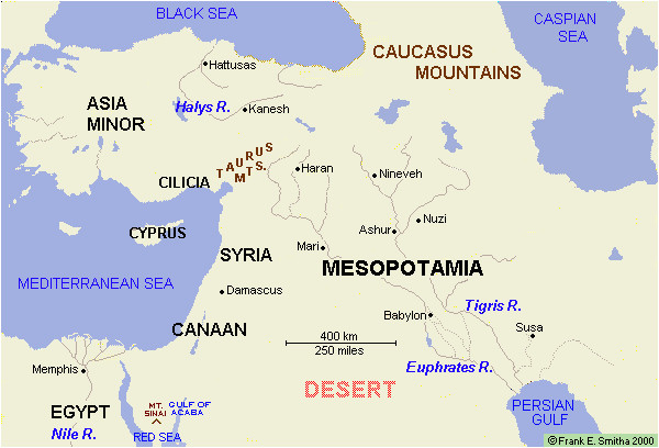 map the middle east west asia to 1200 bce maps