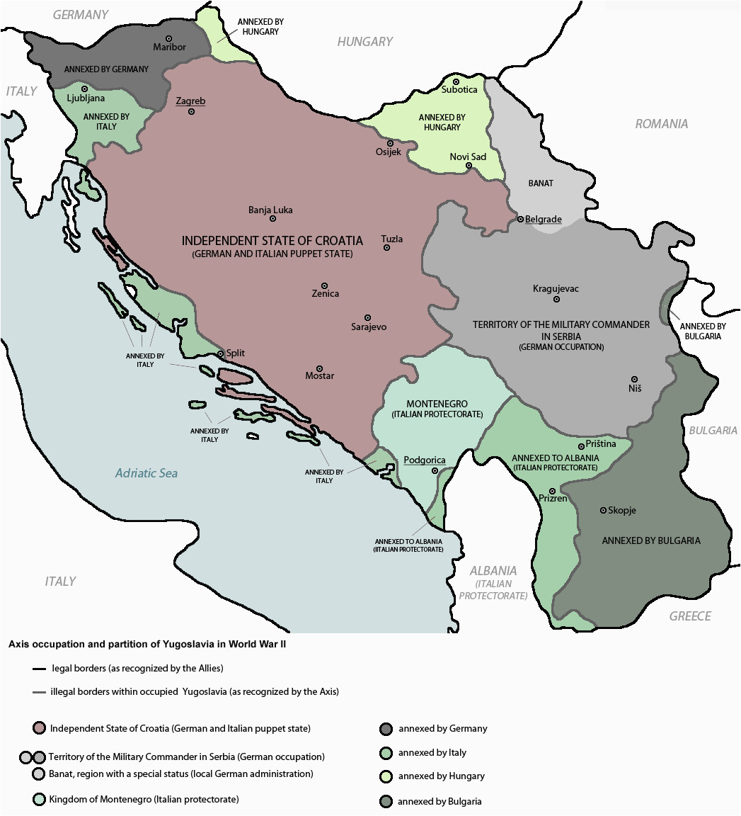 yugoslavia ww2 slavic serbian culture map historical