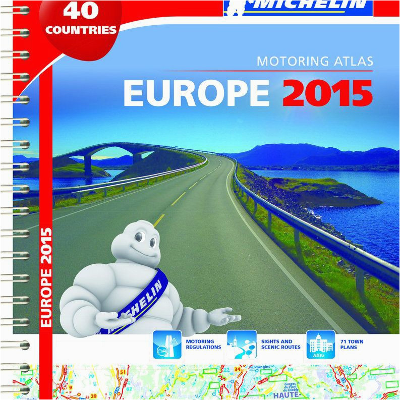 top 6 european road atlases and maps