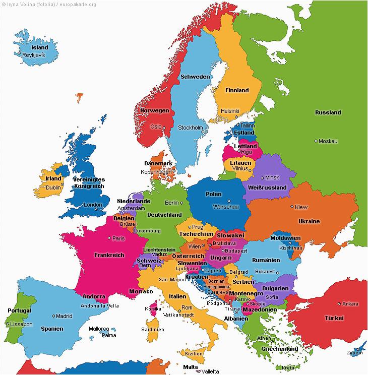 europakarte holiday in 2019 landkarte europa europa