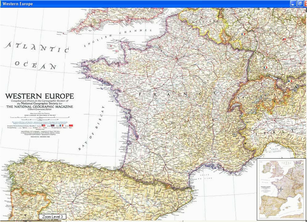 cascoly map europe 1950 br maps for sale