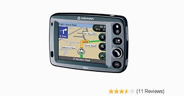 navman n20 satellite navigation system with uk mapping