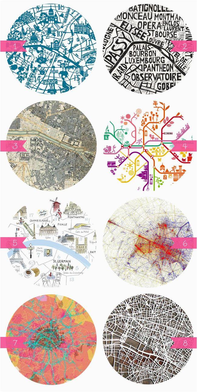 i heart paris maps travel europe map design paris