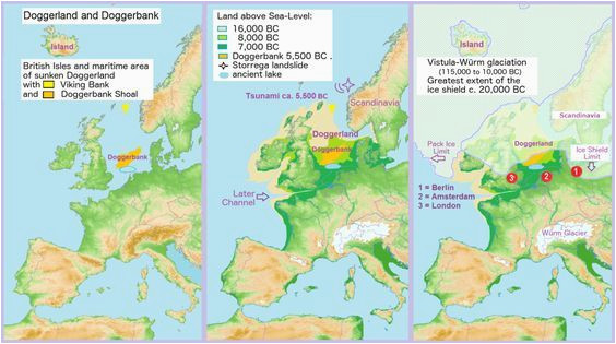 until the middle pleistocene britain was a peninsula off