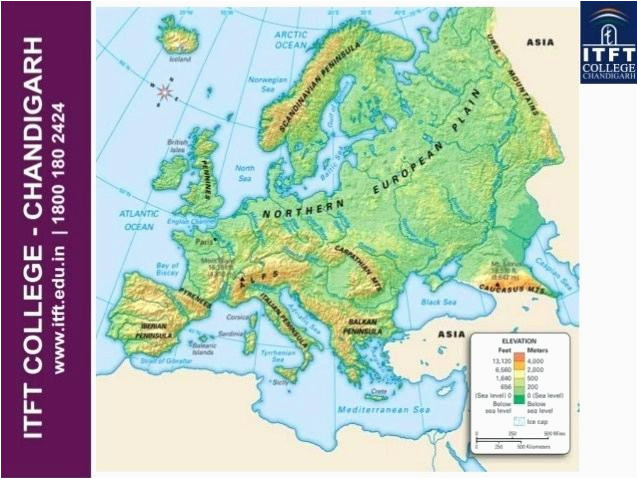 physical features map of europe pergoladach co