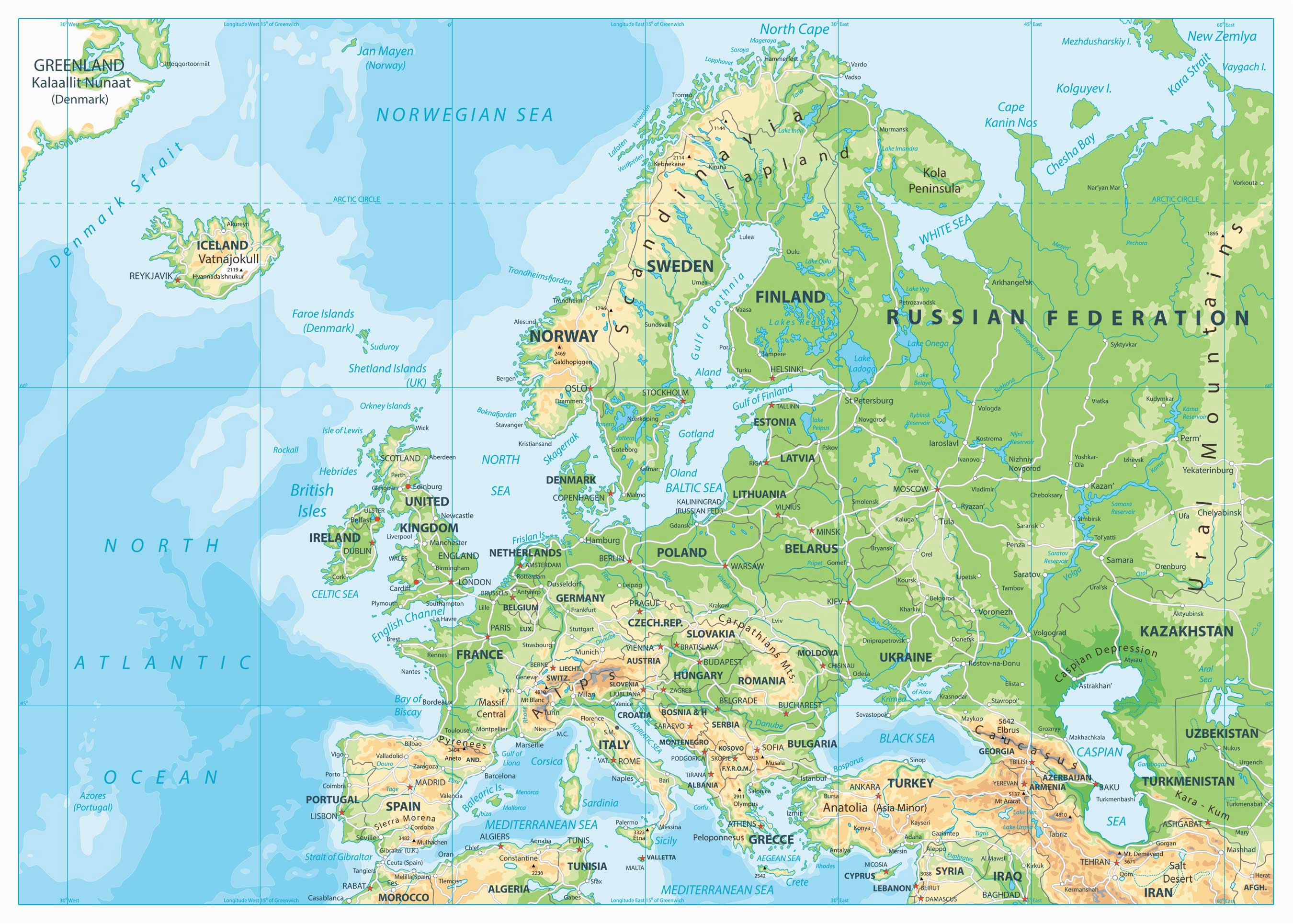 map of europe europe map huge repository of european