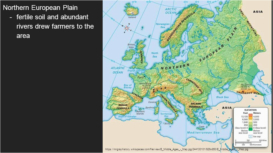 physical geography of northwestern europe northern european