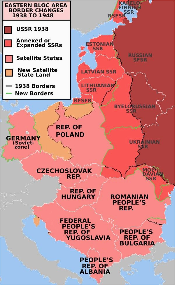 east europe before and after of ww2 maps map historical