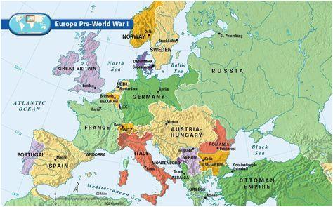 Pre World War One Map Of Europe Europe Pre World War I Bloodline Of Kings World War I