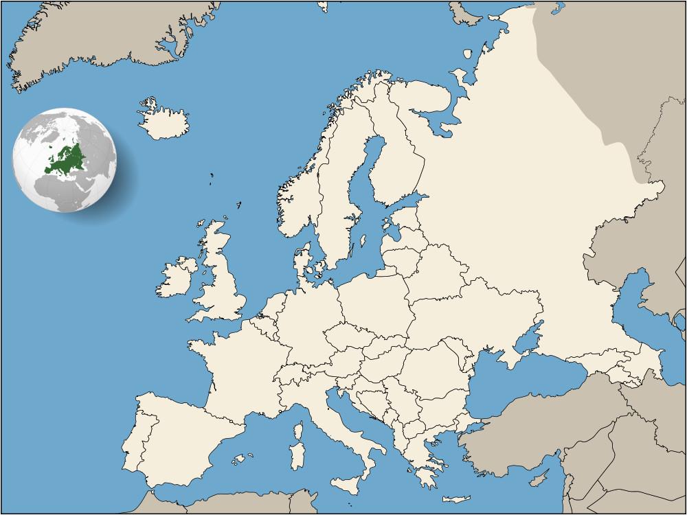 Pyrenees Europe Map Europe Europa Wikimedia Commons
