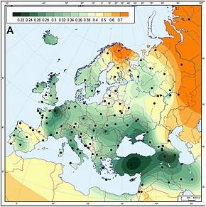 genetic history of europe wikipedia