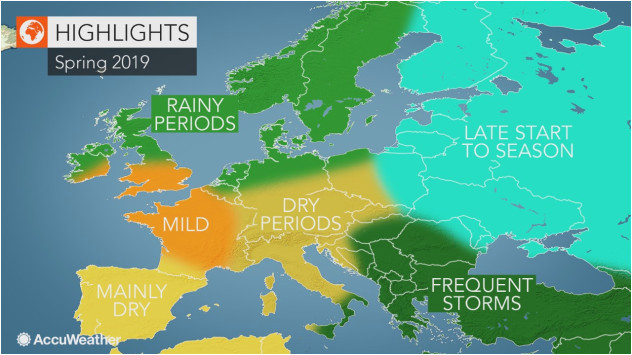 accuweather 2019 europe spring forecast accuweather