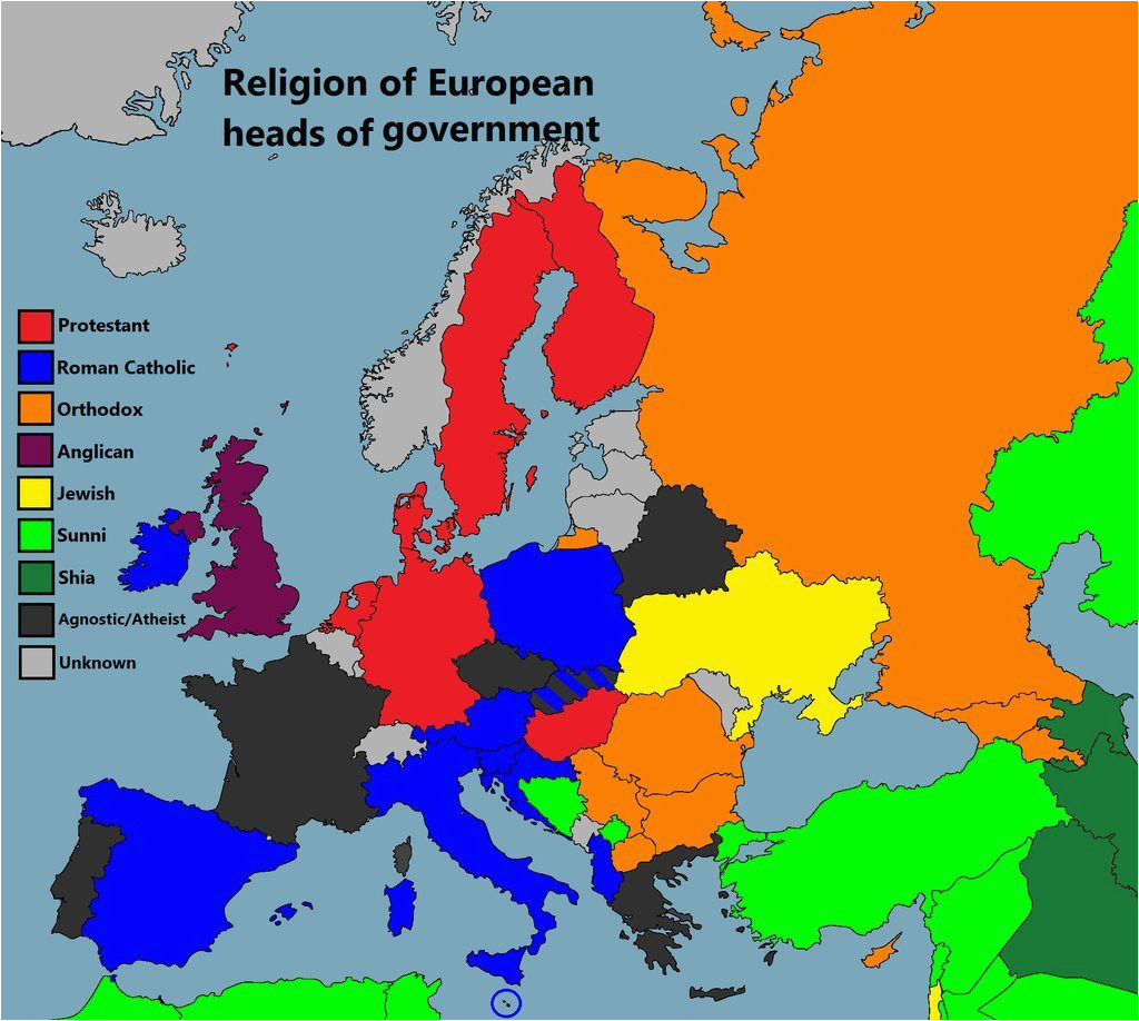 Religion Map Of Europe Maps Facts Panosundaki Pin