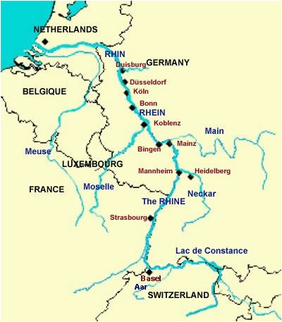 rhine river the rhine river is the longest and most