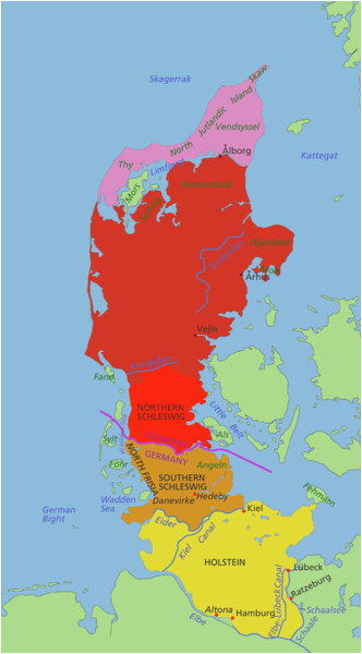Scandinavian Peninsula Europe Map Datei Jutland Peninsula Map Png Wikipedia