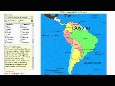 learn the countries of south america and central america geography video