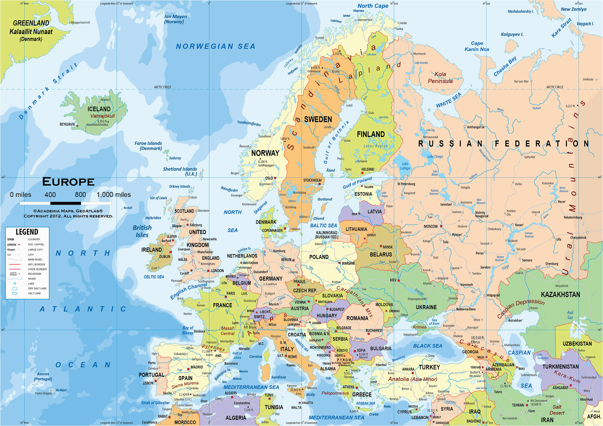 Show Me Map Of Europe Map Of Europe Wallpaper 56 Images