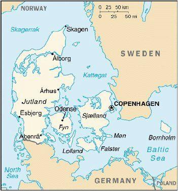 map of denmark maps maps i love maps in 2019 denmark