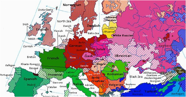 linguistic map of europe from 1914 handbooking