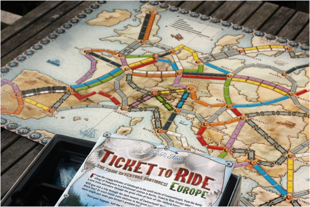 ticket to ride europe the best board games wild tide