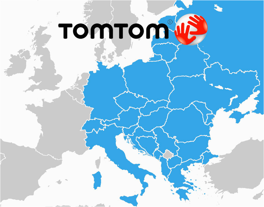 tomtom maps central and eastern europe download free