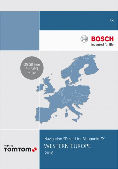 32gb blaupunkt fx navigation update western europe 2018 v10