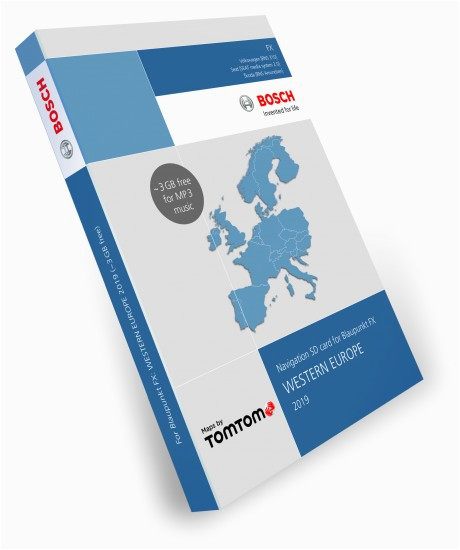 blaupunkt travelpilot fx sd card 8gb western europe 2019 v11