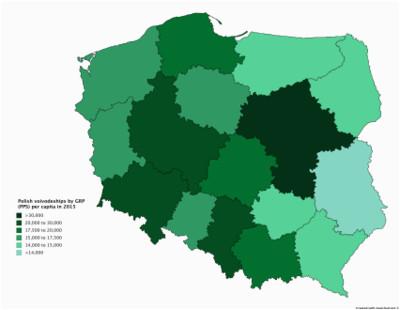 list of polish voivodeships by grp per capita wikipedia