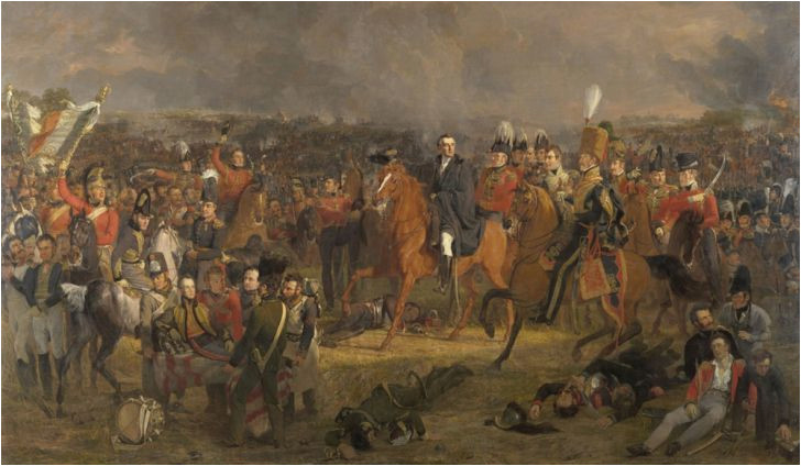 which countries fought at the battle of waterloo