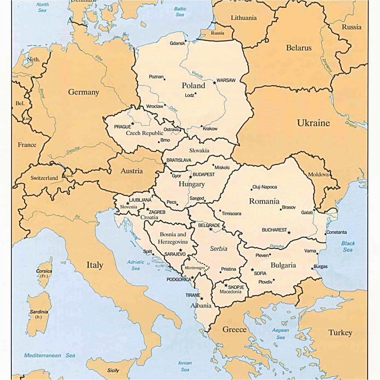 european river cruise maps