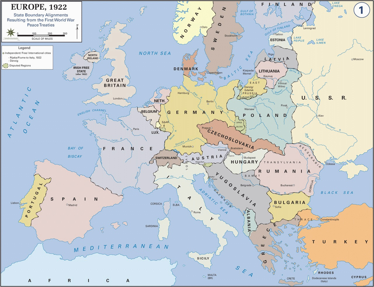 europe after world war i