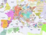 14th Century Europe Map Europe 1300 Interesting Maps World History Map Map