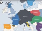 18th Century Map Of Europe Animation Presents the Rulers Of Europe Every Year since 400