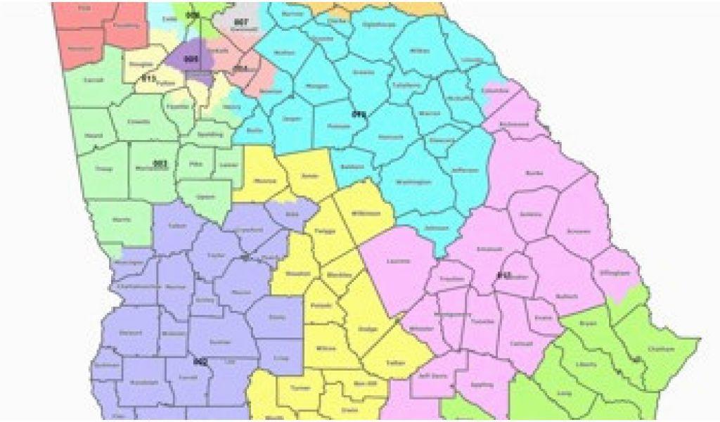 Map Of Georgia 5 Regions.5 Regions Of Georgia Map Map Georgia S Congressional Districts