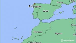 A Coruna Spain Map A Coruna Spain Map Zip Code Map