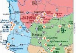 Map Of Arizona Destinations.A Map Of Arizona State United States Map Phoenix Arizona New Map
