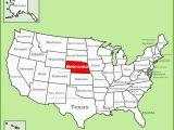 A Map Of Arizona State United States Map Phoenix Arizona Best Nebraska State Maps Usa