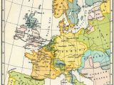 A Map Of Western Europe Map Of Western Europe In the Time Of Elizabeth